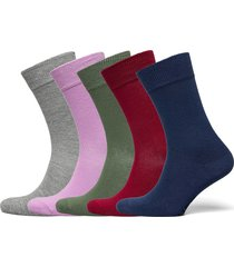 bo.5p crew sock underwear socks regular socks multi/mönstrad frank dandy