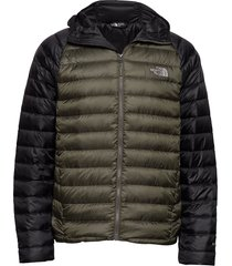 m trevail hoodie fodrad jacka grön the north face