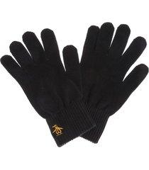 mens basic logo glove