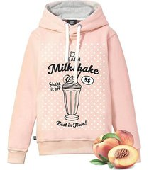 brzoskwiniowa bluza peach milkshake!