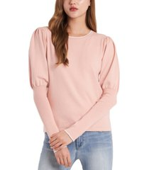 riley & rae cosette puff-sleeve sweater, created for macy's