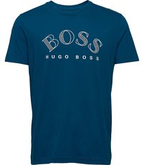 tee 1 t-shirts short-sleeved blå boss