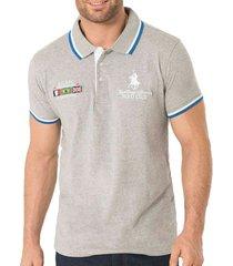 camiseta brent gris para hombre croydon