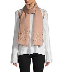 textured wool scarf