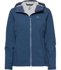 la cote flex 2.5l jkt w outerwear sport jackets blå salomon