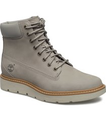kenniston 6in lace up shoes boots ankle boots ankle boot - flat grå timberland