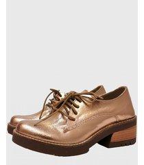 zapato cobre miye collazzo cobre