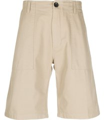 department 5 plain bermuda shorts - neutrals