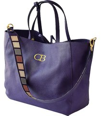 bolso violeta colombian bags isabella tote