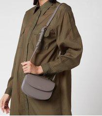 a.p.c. women's mini geneve shoulder bag - grey