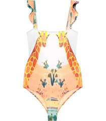 carolina k one-piece swimsuits