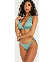 hunkemöller string-bikiniunderdel socal grön