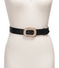 inc embellished-buckle belt, created for macy's