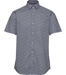 matrostol ss overhemd met korte mouwen blauw matinique