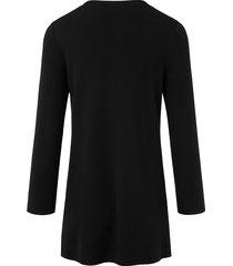 trui van 100% scheerwol (biella yarn) van peter hahn zwart