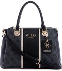 guess cathleen 3 compartments satchel