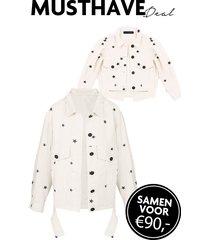 twinning set sterren jacket
