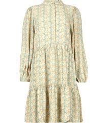 jurk met bloemenprint taylor  blauw