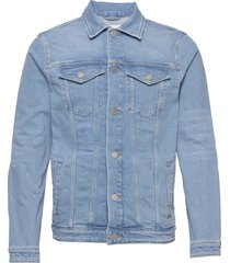 slhjeppe 4013 light blue st dnm jacket w jeansjack denimjack blauw selected homme