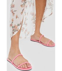 nly shoes barely there neon sandal sandaler
