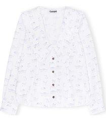 printed poplin bri shirt