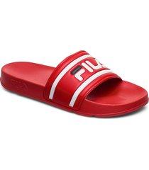 morro bay slipper 2.0 shoes summer shoes pool sliders röd fila