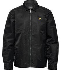 lightweight nylon jacket dun jack zwart lyle & scott