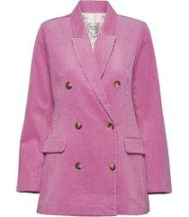 d lla classic blazer blazer colbert roze second female