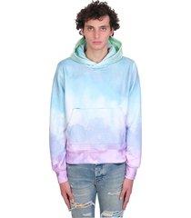 amiri sweatshirt in multicolor cotton