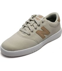 tenis lifestyle beige-miel-blanco new balance mode de vie ct 10