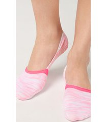 calzedonia invisible socks in faded pattern woman pink size 40-41