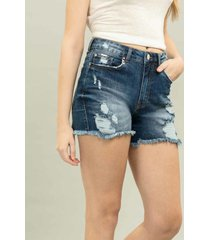 shorts califórnia hot pant jeans - lez a lez