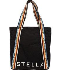 stella mccartney stella mccartney falabella reversible monogram shoulder bag