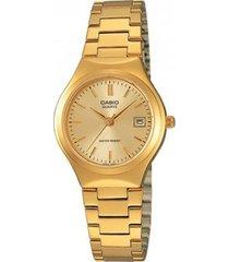 reloj casio para dama ltp 1170n-9a dorado
