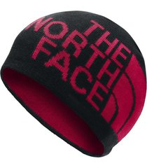 gorro reversible tnf banner negro the north face