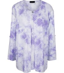 blouse m. collection lila::wit