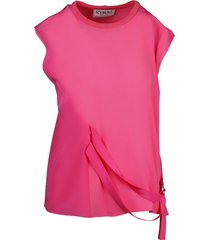 asymmetric top with laces
