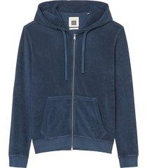hooded sweatshirt jacket