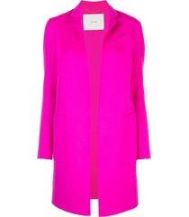 adam lippes open-front cashmere midi coat - pink