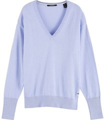 trui cashmere paars