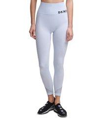 dkny sport high-waist seamless 7/8 length leggings