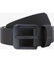main street faux leather belt