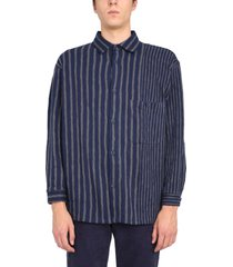 ymc striped ryder shirt