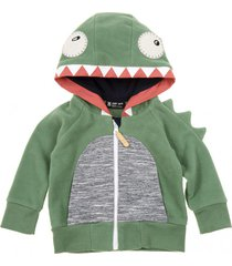 bluza lil monster hoodie green