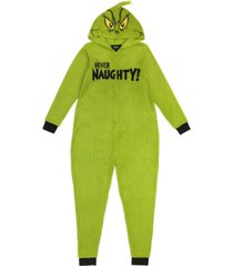 matching women's the grinch hooded pajamas, online only