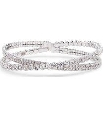 women's cristabelle crisscross cuff bracelet