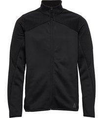 thermowarm track jacket sweat-shirt tröja svart reebok performance