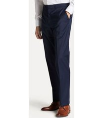 tommy hilfiger men's regular fit suit pant in navy twill navy twill - 36/32