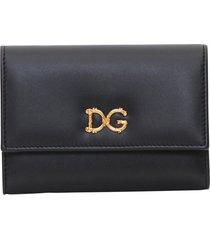 dolce & gabbana dg baroque folding wallet