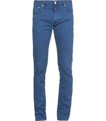 jacob cohen cotton blend twill jeans